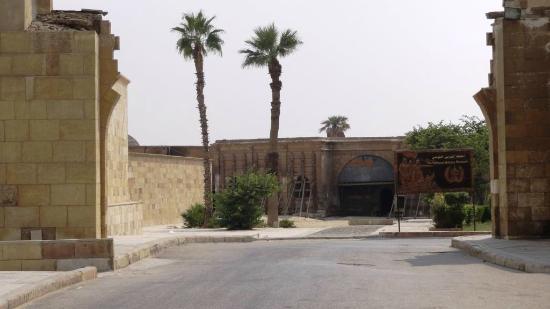 Military Museum: Entrada do Museu Militar @ Citadela, Cairo