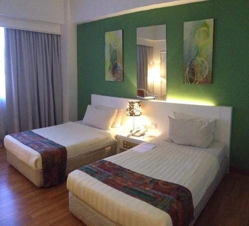 De Palma Hotel Ampang: Standard twin accommodation