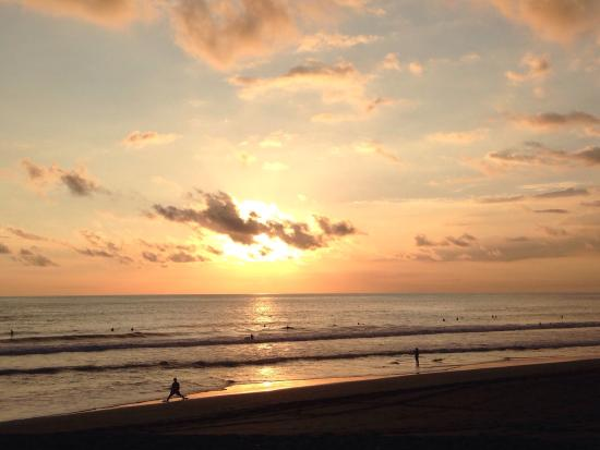 Surf Inn Hermosa: Atardecer en hermosa