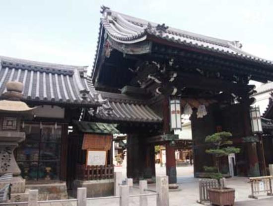 Osaka Tenmangu Shrine: 建物