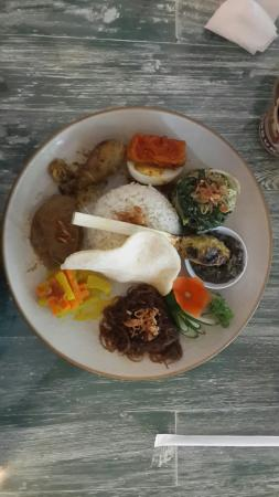 The Heritage Kitchen and Gallery: Nasi campur