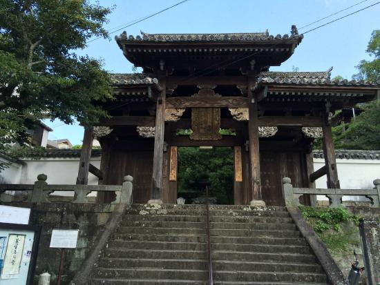 Shofukuji Temple: 山門