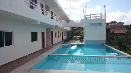 Hotel Palma Real: Vista desde la piscina