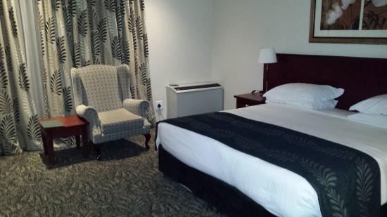 Courtyard Hotel Sandton: 室内は広め