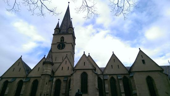 Lutheran Evangelical Cathedral & Tower : The Cathedral