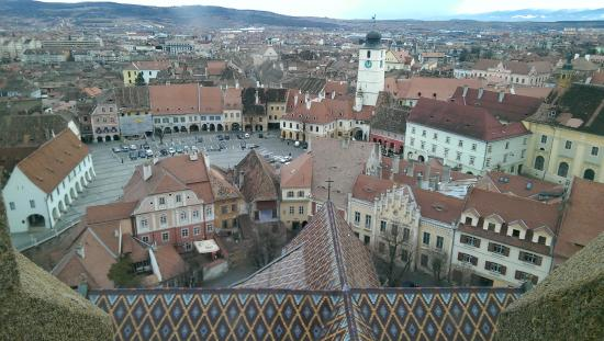 Lutheran Evangelical Cathedral & Tower : View from the tower