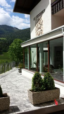 Hotel Garni Sonnblick: Dal terrazzo