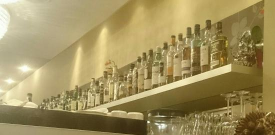 Orchidee : Their selection of whiskies.