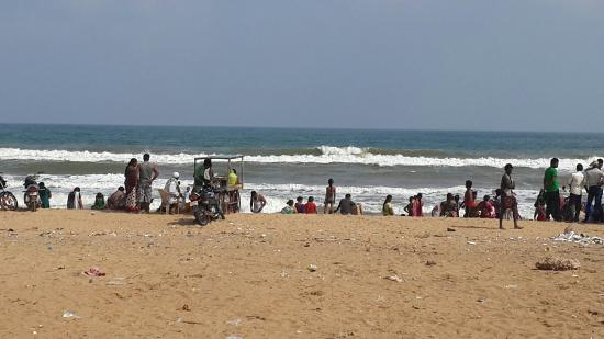 Nellore, India: Mypadu beach
