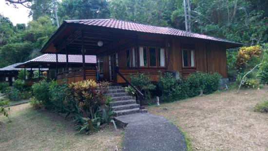 Kungkungan Bay Resort : The room we stayed in