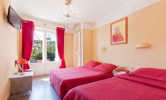 Hotel Bellevue: Chambre