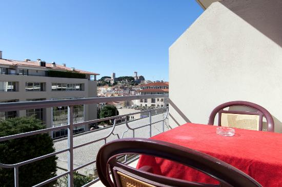 Hotel Bellevue: Balcon