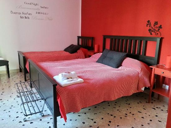 Bquadro Bed & Breakfast: La rossa