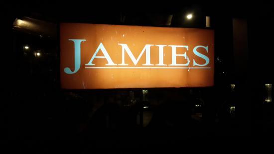 Jamies Restaurant: Вывеска!