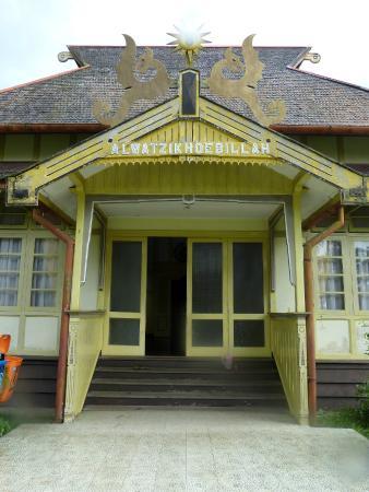Sambas, Indonésia: Alwatzikhoebillah palace