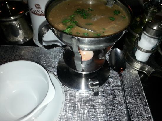 Restauracja Gdanska : Zupa borowikowa