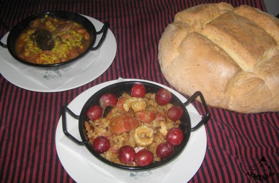 Hostal Restaurante Almenara: Platos de Cuchara