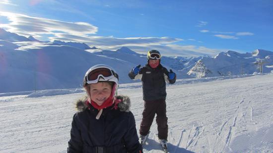 Ultimate Snowsports Tignes: kids having fun!