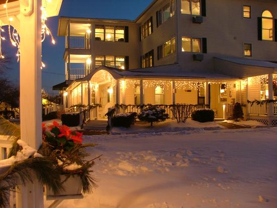 Inn at Harbor Hill Marina: Winter at Harbor Hill