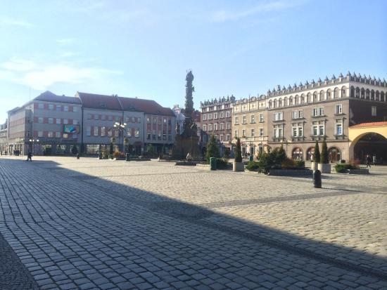 Raciborz, Polonia: Market Square