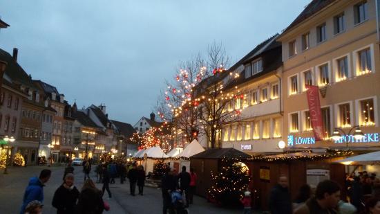 Hotel Café Ebner: Mercatino di Ravensburg