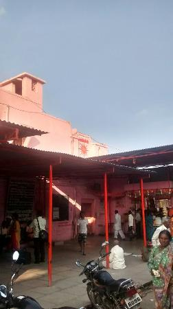 Solapur, India: Entrance of Akkalkot Swami Samath Maharaj Math