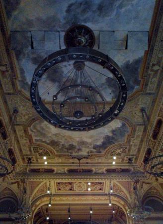 Historische Stadthalle Wuppertal: prachtig plafond