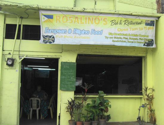 Rosalino's - not Rosalina! - and still open! - Review of