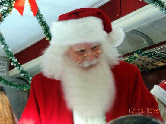 Hobo Railroad: Santa