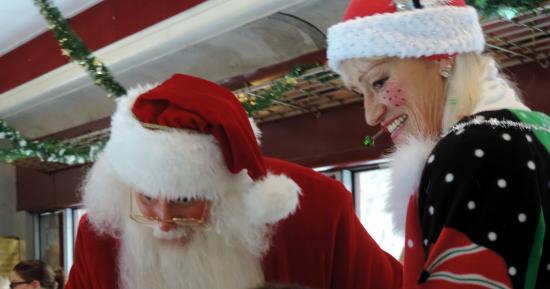 Hobo Railroad: Santa n Head Elf