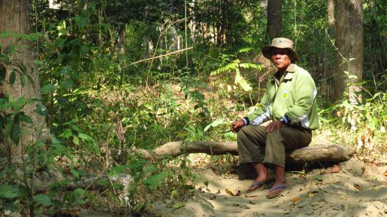 Sagaing Region, Myanmar: ranger which took us hiking