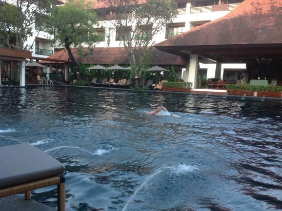 Ratilanna Riverside Spa Resort Chiang Mai: Poolside