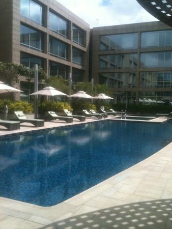 Swimming Pool Picture Of Hilton Bangalore Embassy Golflinks Bengaluru Tripadvisor