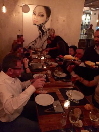 Restaurante el lugar de martina en madrid con cocina otras for Cocina de martina