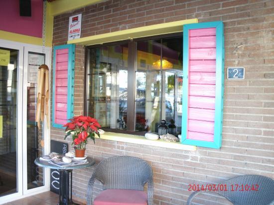 La Roca Restaurant Caribbean Grill: Entrda
