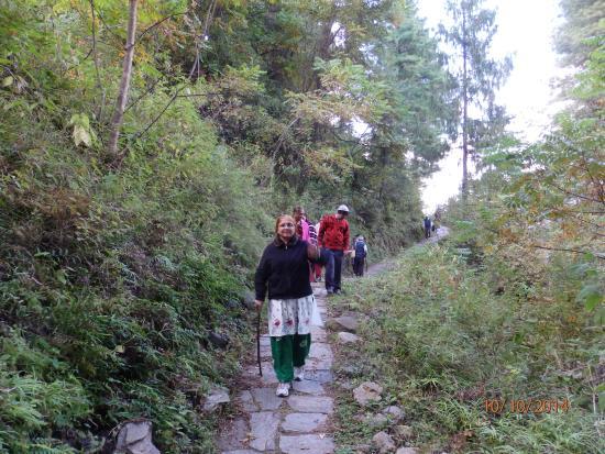 Drukgyel Dzong : A short trek round the hill will take you up.