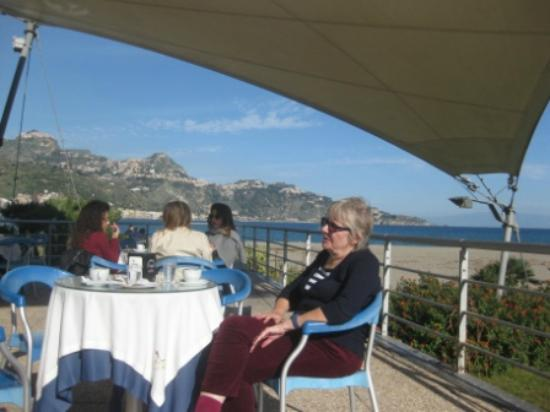 Ristorante Frontemare - Lido di Naxos : The view