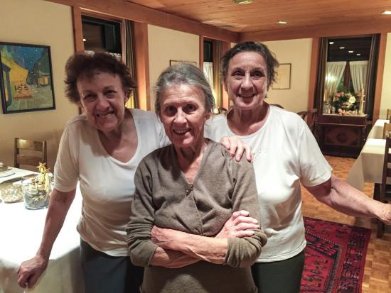 Restaurant Gotthard: Die Gastgeberinnen Greta, Eva und Leonie Sicher