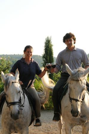 Agriturismo Centro Ippico della Berardenga: Sadio e Donatella