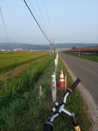 Guesthouse Akane-yado: Cycling towards the city