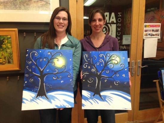 Jackson Art Studio & Gallery: fun night