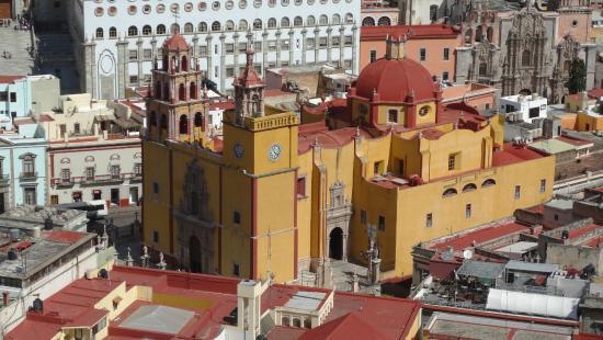 กวานาวาโต, เม็กซิโก: Widok na miasto