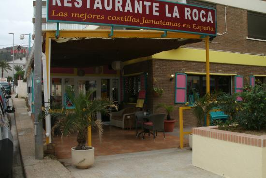 Foto de la roca restaurante el albir menu tripadvisor for Restaurante la roca