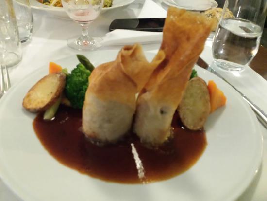 Radisson Blu Astrid Hotel, Antwerp : Chicken dish