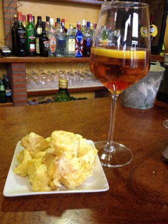 Restaurante El Pradillo: Mosto y patatas alioli