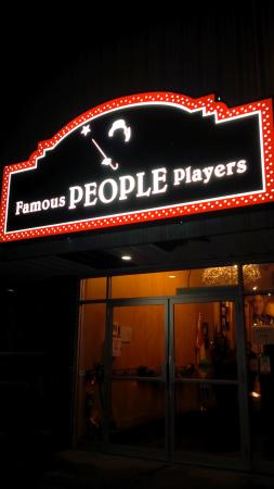 Famous People Players Dinner Theatre: a nice welcome in to a wonderful experience