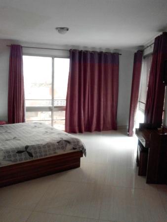 Hotel De La Pergola: chambre