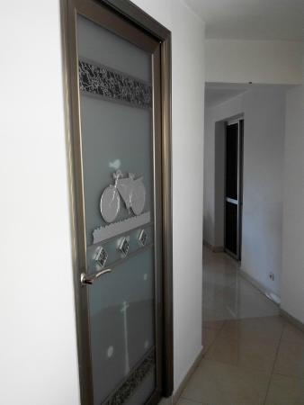 Hotel De La Pergola: couloir