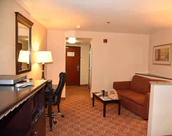 Comfort Suites Vacaville: Living Room
