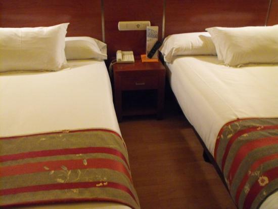 Andia Hotel Pamplona : LAS CAMAS